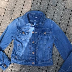 EUC Gap jean jacket for girls